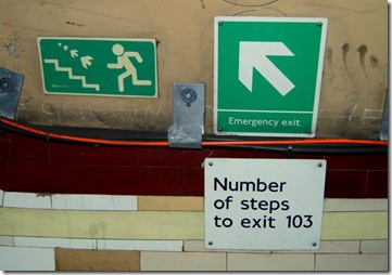 13. stair signage