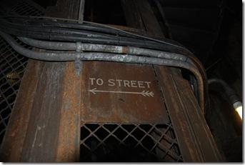 7. stairwell signage