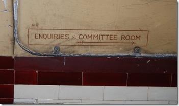 9. passageway signage