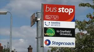 Bedfordshire bus stop
