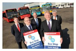 Bus partnership in the West Midlands