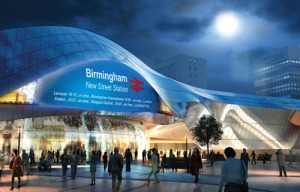 New Street Station redevelopment - Artist's impression