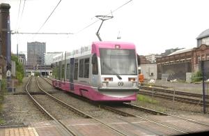 Midland Metro tram
