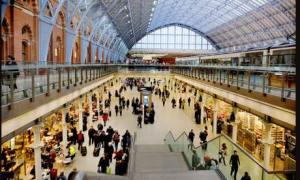Shops at St Pancras
