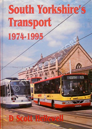 Front cover of 'South Yorkshire's Transport 1974-1995'