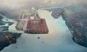 Thames Hub airport - artist's impression
