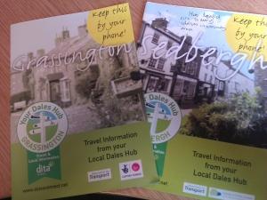 Bespoke hub leaflets