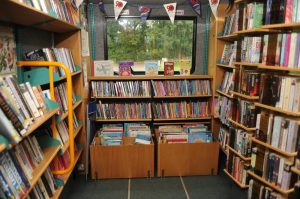 Inside Hillingdon mobile library