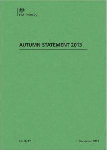 Autumn Statement 2013 front cover