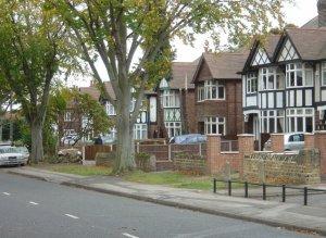 A UK suburban street