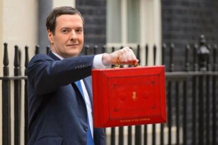 The Chancellor, George Osborne MP, on budget day (picture: HM Government)