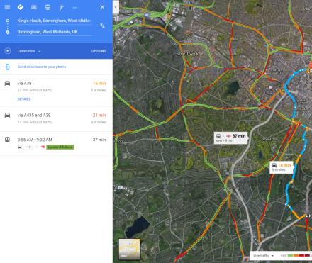google map directions v2